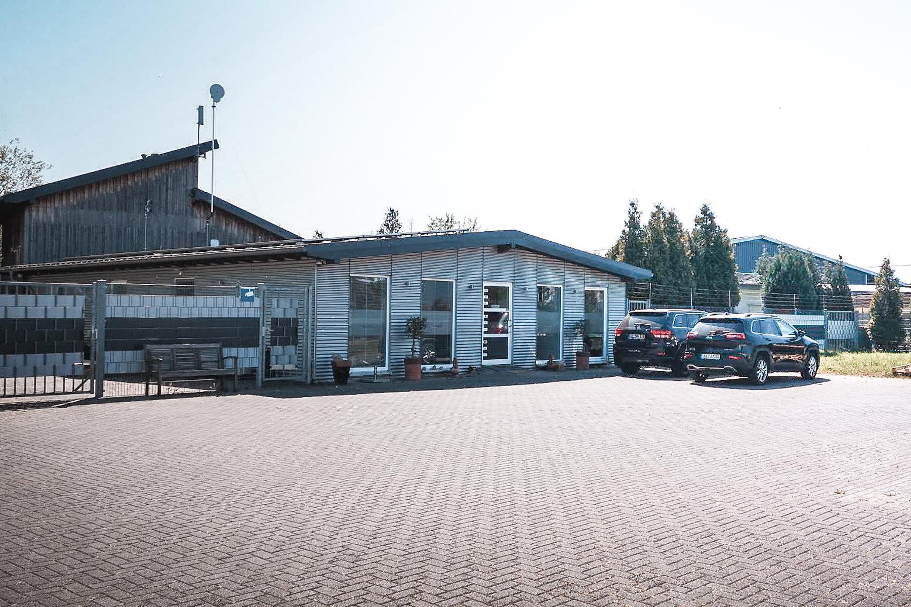 phi Hosting Jülich | Gelände Unternehmen Datenzentrum Rechenzentrum